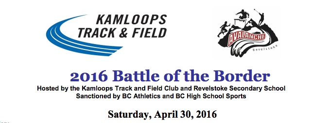 battle of the border track meet